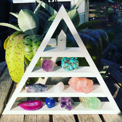 Triangle and Pyramid Shelves