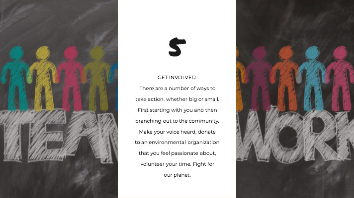 Get involved in community volunteer for our planet.