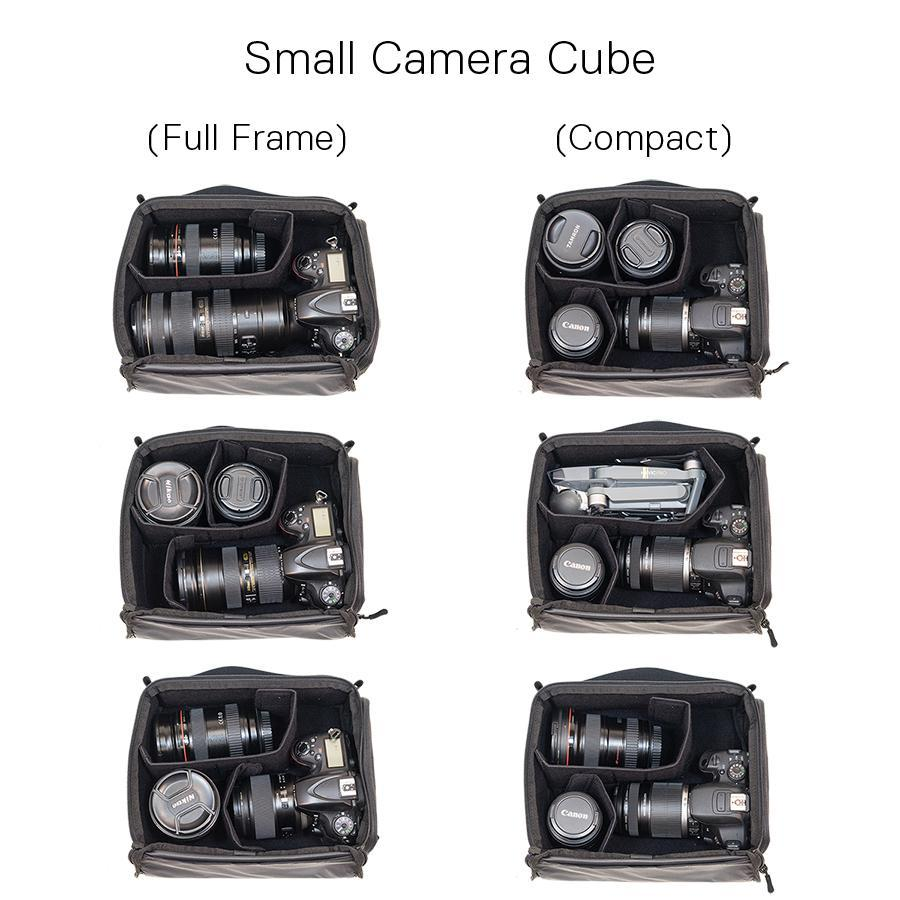 Small Camera Cube Bag & Dividers for Compact/DSLR Camera | WANDRD