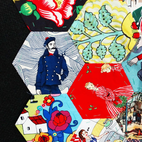 English Paper Piecing Patchwork & Quilting Class ~ 10th Dec 2016