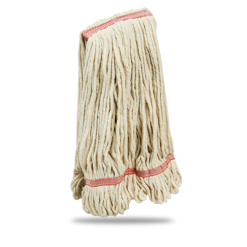 Medium Cotton Looped-End Wet Mop Head