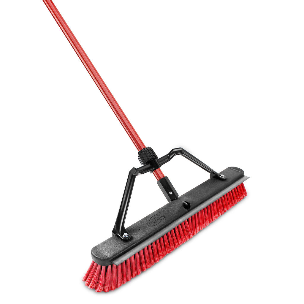 "24"" Multi-Surface Squeegee Push Broom"