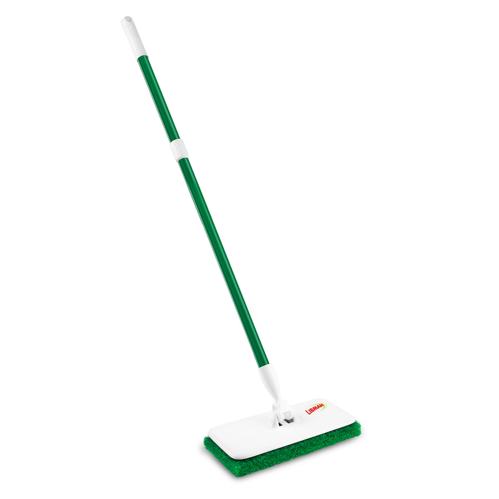 Wall/Floor Scrubber with Extendable Handle