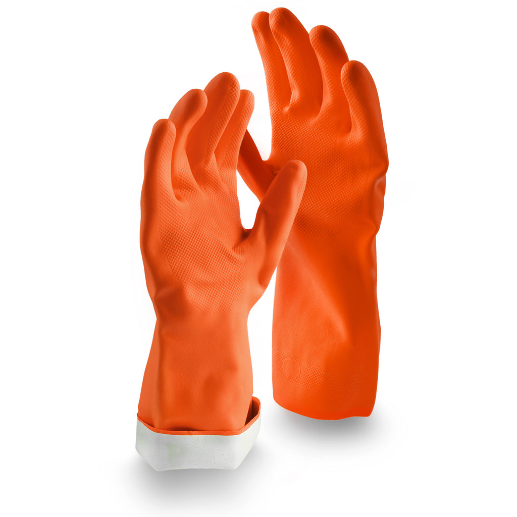 Premium Reusable Latex Gloves - Medium