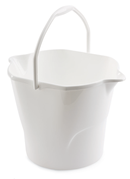 3 Gallon Round Utility Bucket - White