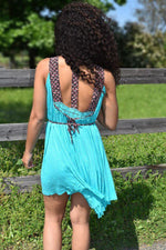 Summertime Dreamin' - Embroidered Dress