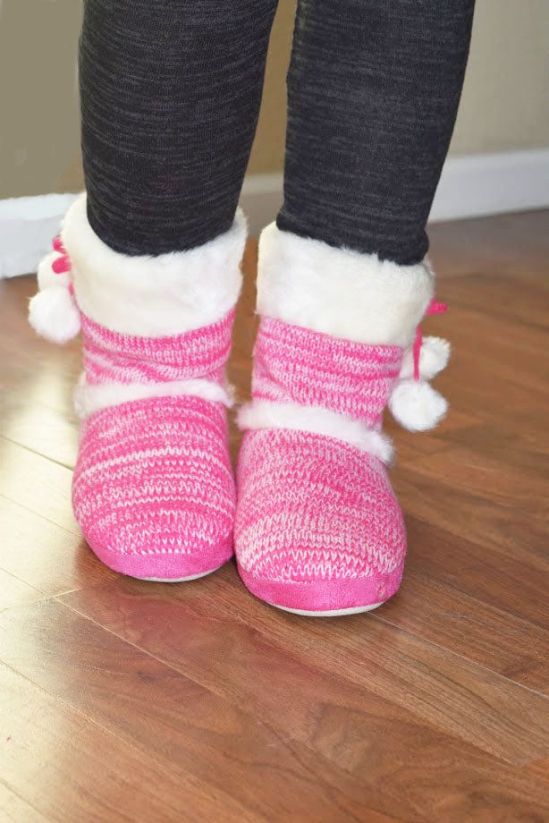 My Favorites Too - Indoor Slippers - Pink