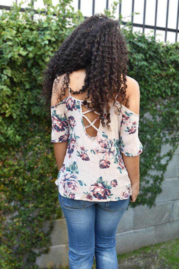 Floral Blossoms - Top