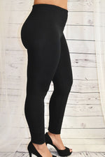 Fashionably Fit - High Waist Black Leggings