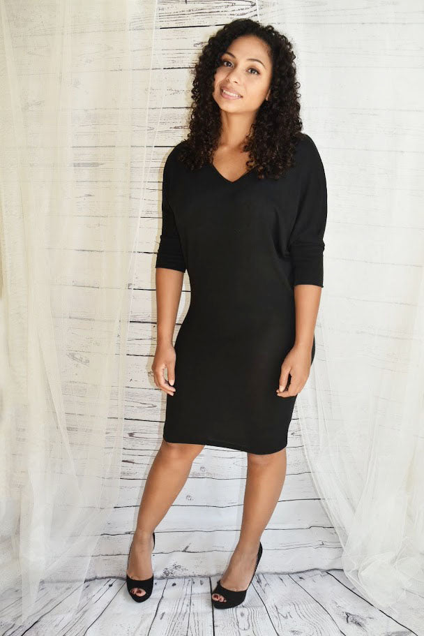 Effortless You - Black Dress