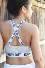 Just a Workout Babe - Sporty Bralette