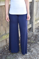 Comfort at Best - Flared Jersey Pants