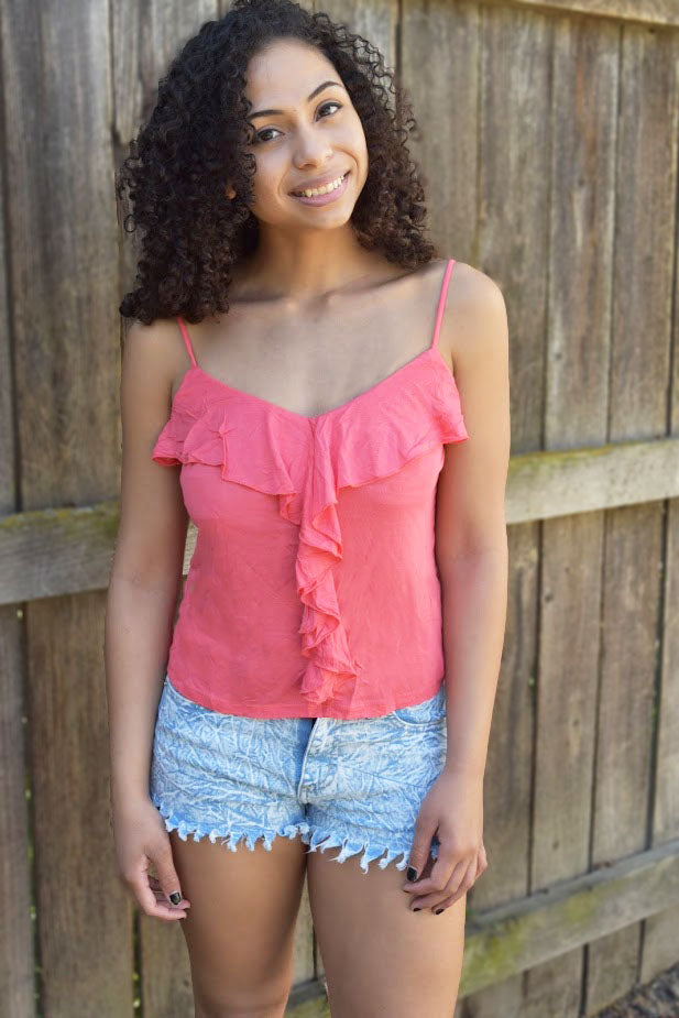 Summer Sizzlin' - Coral Tank