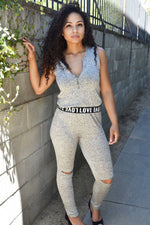 LOVE Melange Jumpsuit