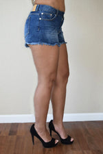 Fashion Shoutout - Denim Frayed Shorts