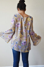 Super Fly - Chiffon Flower Top