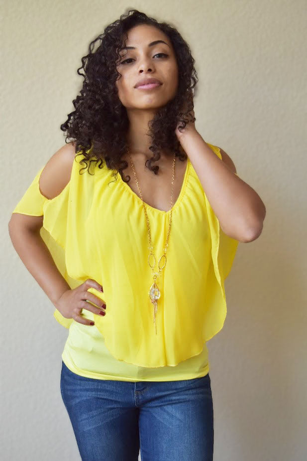 Pretty Little Sunlight - Top (Comes with Necklace)