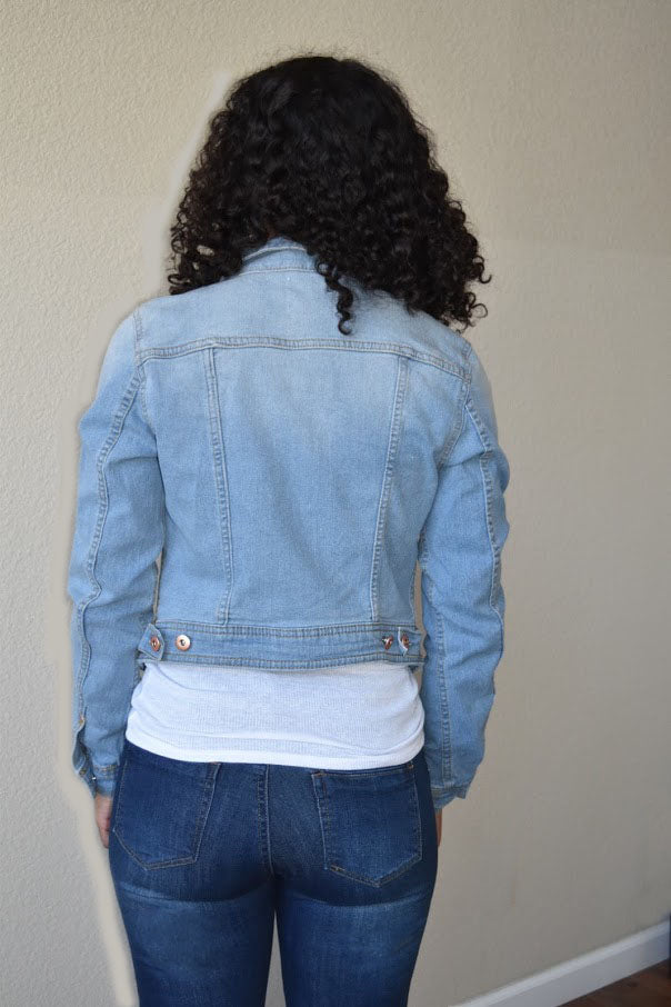 Journey Free - Vintage Denim Jacket