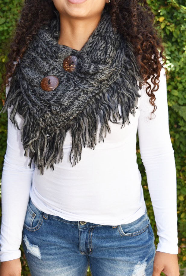 Fringe Please - Coco Scarf