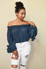 Shape Your World - Statement Ruffle Top