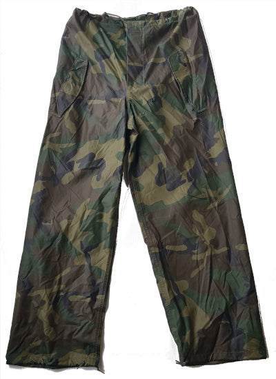 US Rain Pants Woodland Camo