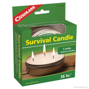 36 HR Survival Candle