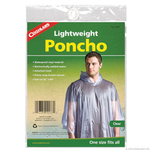Clear Lightweight Poncho