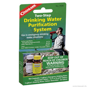 Two Step Drinking Water Treatment