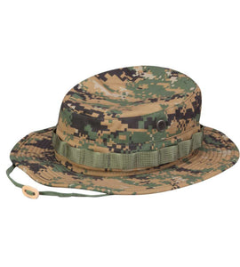 Boonie Hat Woodland Digital