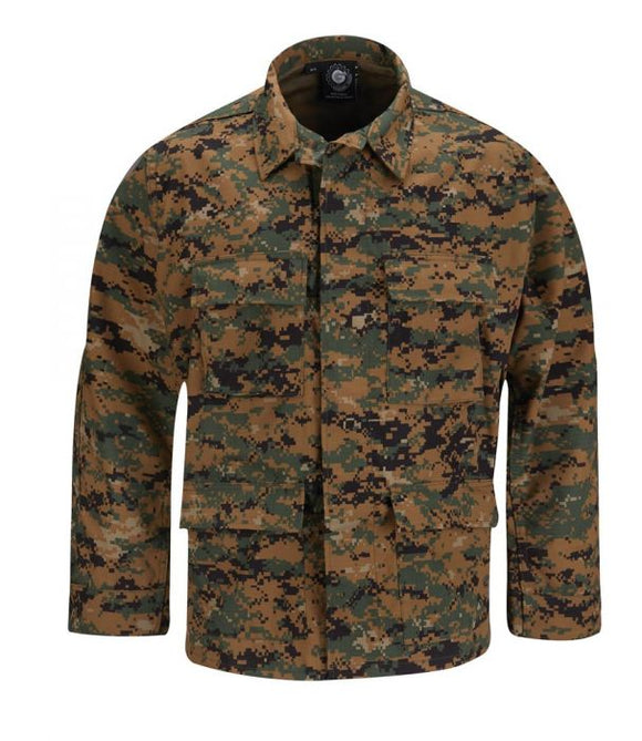 BDU Jacket Woodland Digital