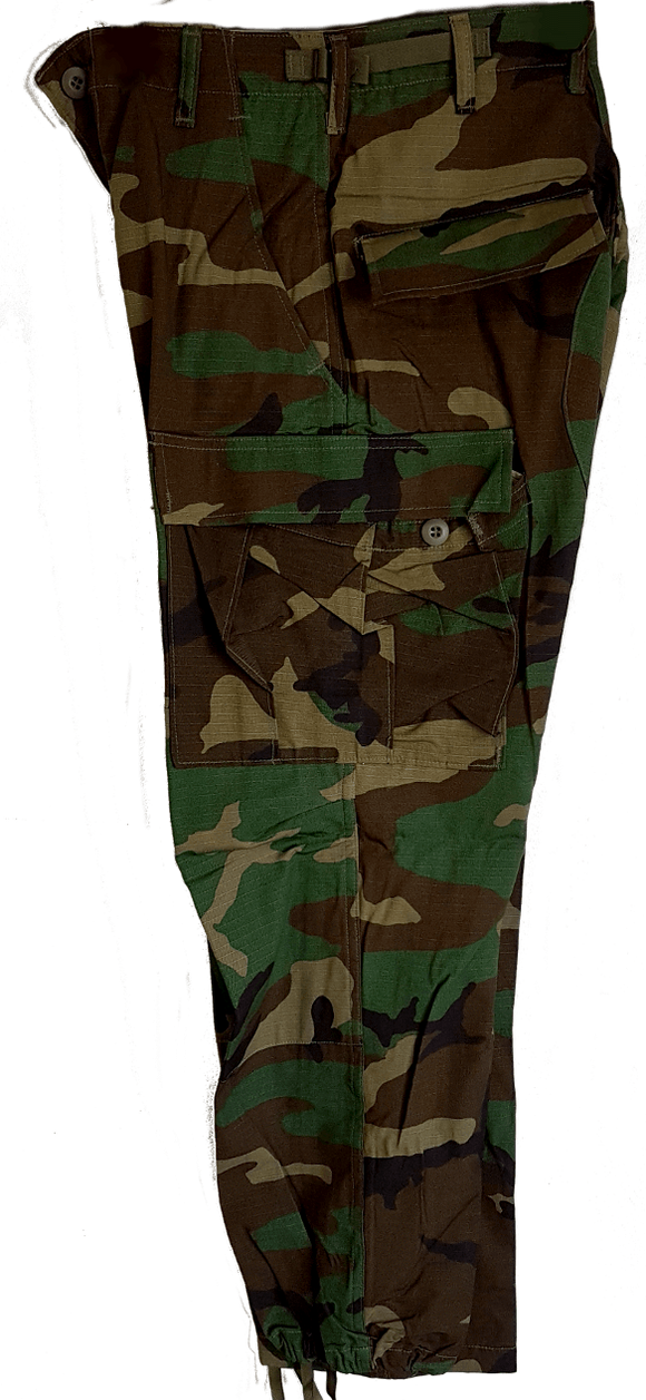 Boys Woodland Camo Cargo Pants