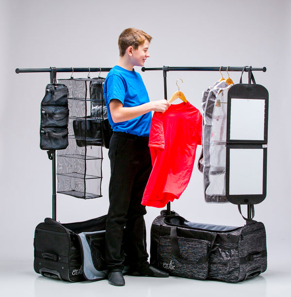 Demi™, The Collapsible Changing Station by Glam'r Gear®