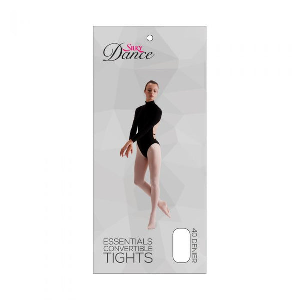 Silky Dance Essentials Convertible Tights - Theatrical Pink - Glam'r Gear