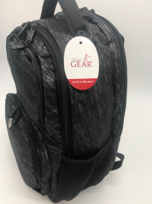 Tinsel Black Backpack - Glam'r Gear