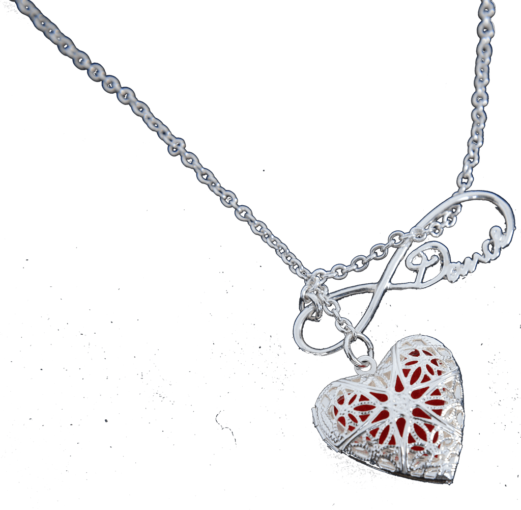 Dance Aromatherapy Necklaces - Heart Shape - Glam'r Gear
