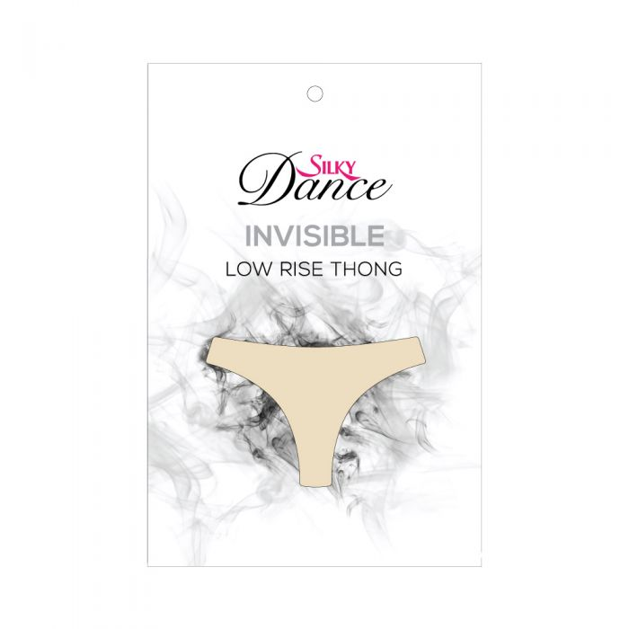 Silky Dance Invisible Low Rise Thong - Glamr Gear