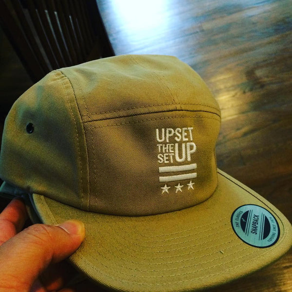 Upset The Setup 5 Panel Hat
