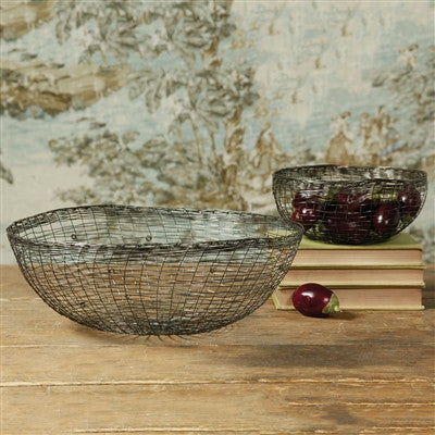 Organic Wire Bowl - Decor - George & Augie