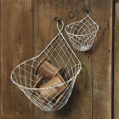 Otis Wire Hanging Basket - Large - Decor - George & Augie