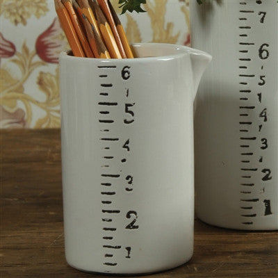 Ruled Ceramic Pitchers - Medium - Decor - George & Augie