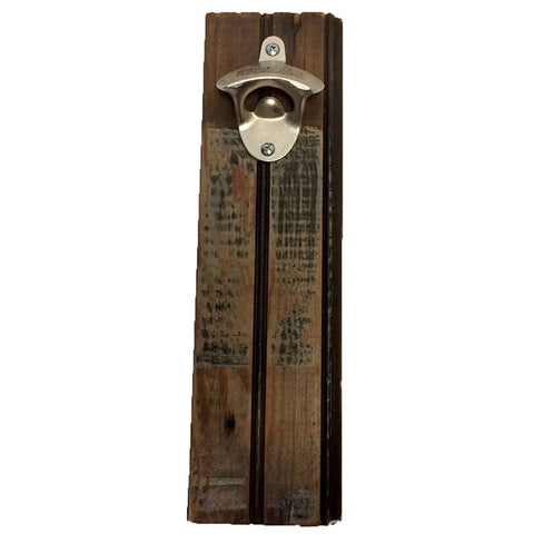 Beadboard Reclaimed Wood Bottle Opener - Decor - George & Augie