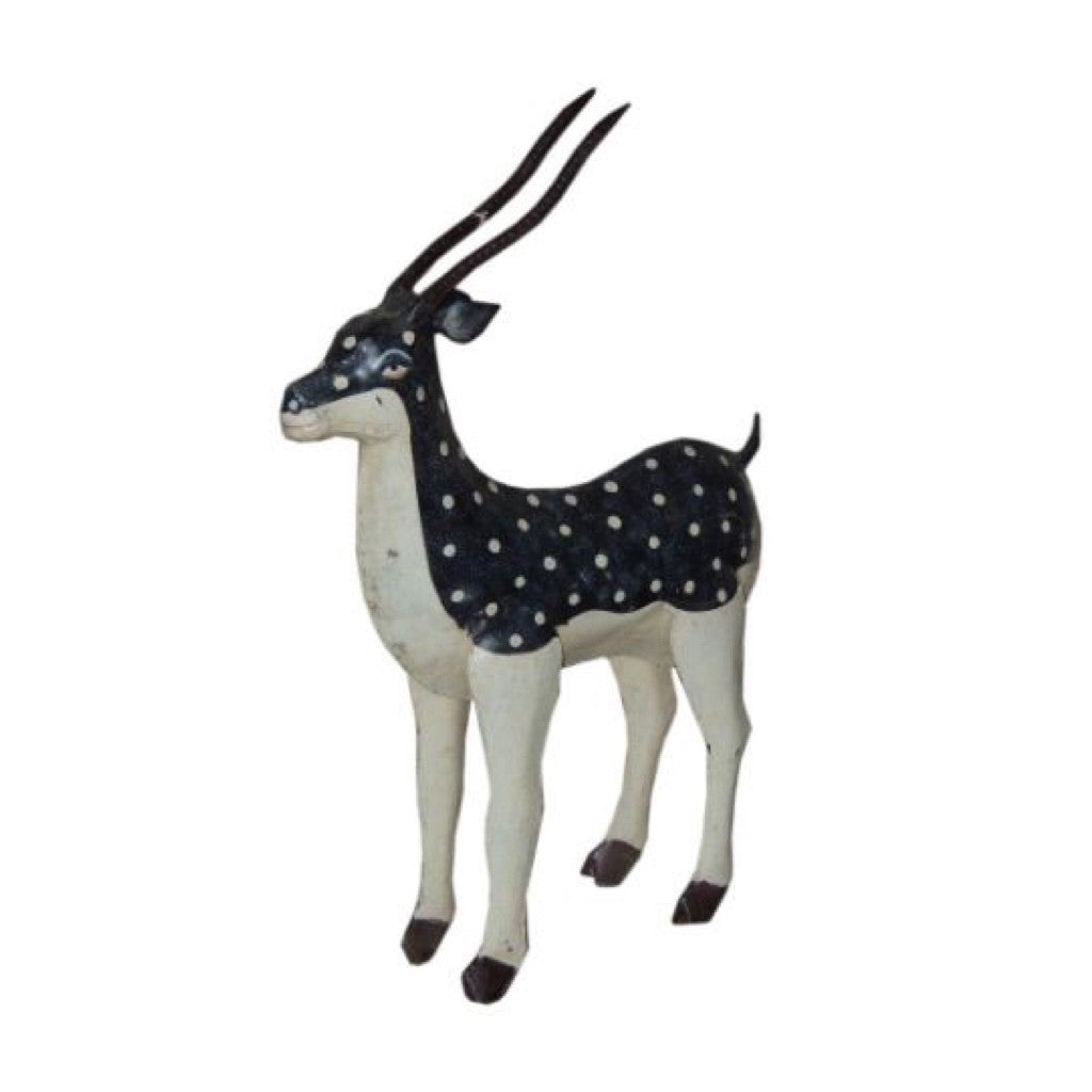 Iron Painted Deer - Decor - George & Augie