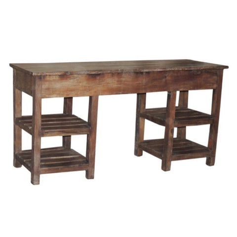Wooden Console Table - Furniture - George & Augie