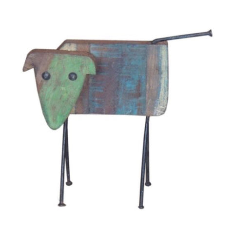 Wooden Dog - Decor - George & Augie