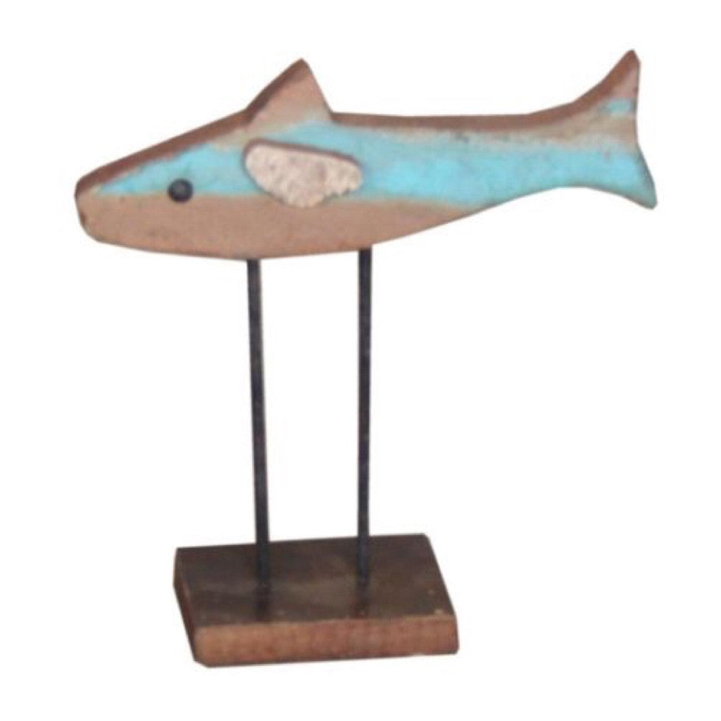 Wooden Fish - Decor - George & Augie