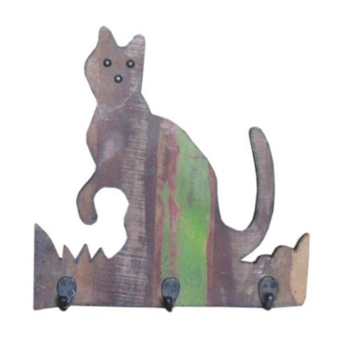 Cat Wall Hanger - Decor - George & Augie