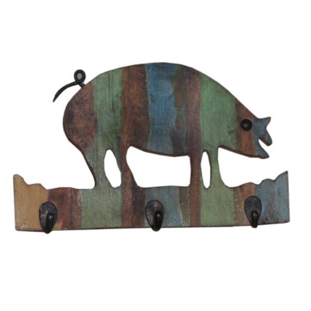 Pig Wall Hanger - Decor - George & Augie