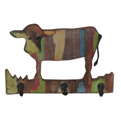 Cow Wall Hanger - Decor - George & Augie