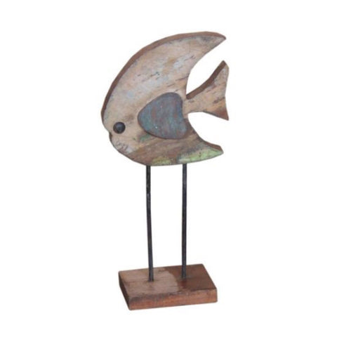 Wood Fish - Decor - George & Augie