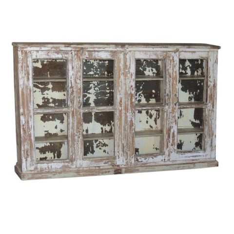 Wooden Glass Showcase - Furniture - George & Augie